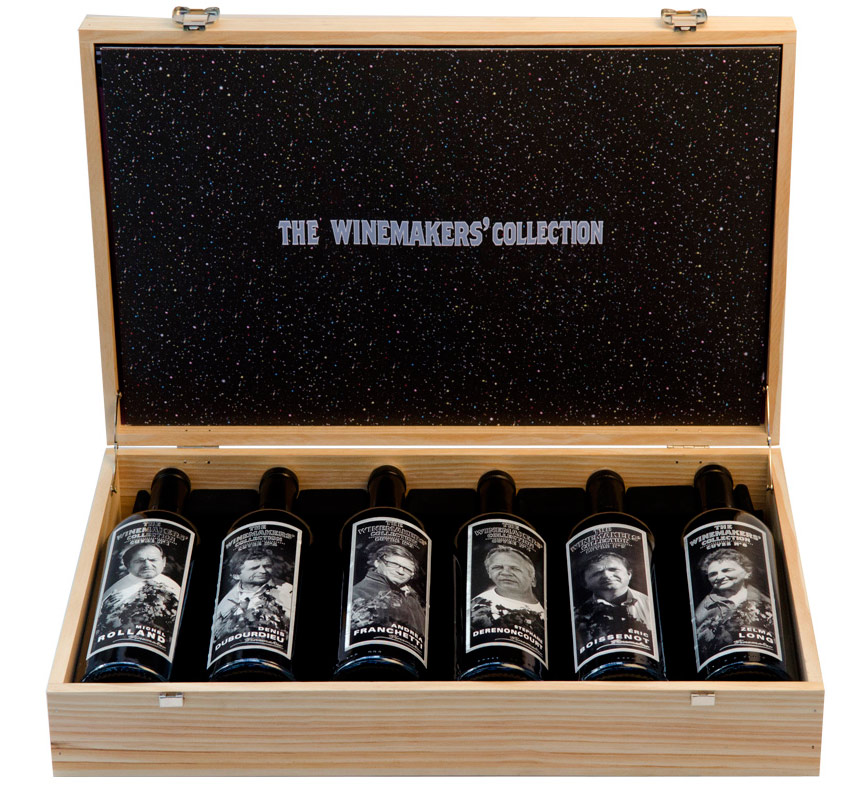 Winemakers'collection coffret