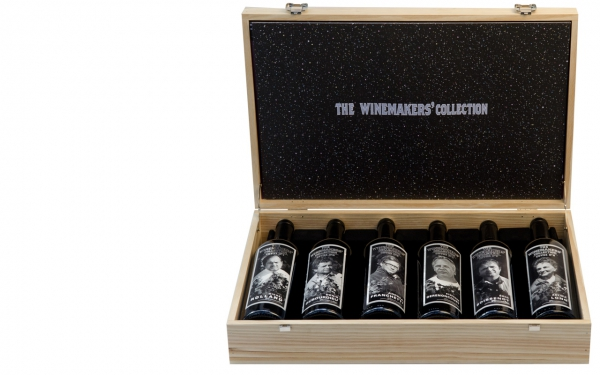 The first Winemakers' Collection box